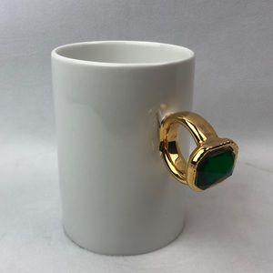 "Two's company  ""put a ring on it""mug"